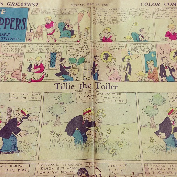 Daily Herald Color Comic section from May 23rd, 1926.