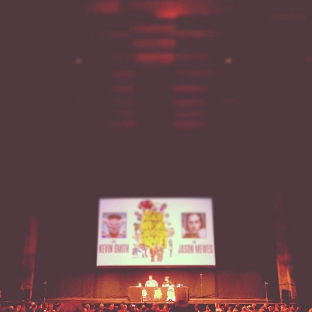 @thatkevinsmith and @jaymewes doing  live.